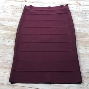 BCBGMAXAZRIA | Bandage Midi Pencil Skirt
